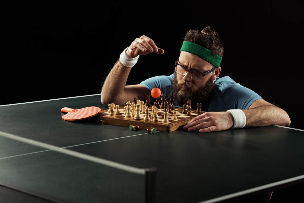 planning the ping pong serve