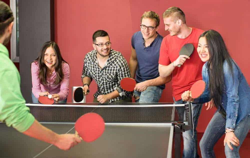 travel around the world ping pong game